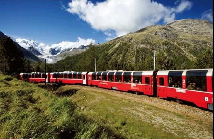 Trenino del Bernina - St. Moritz