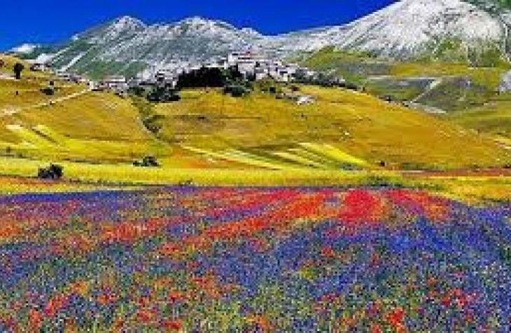 Castelluccio e Norcia